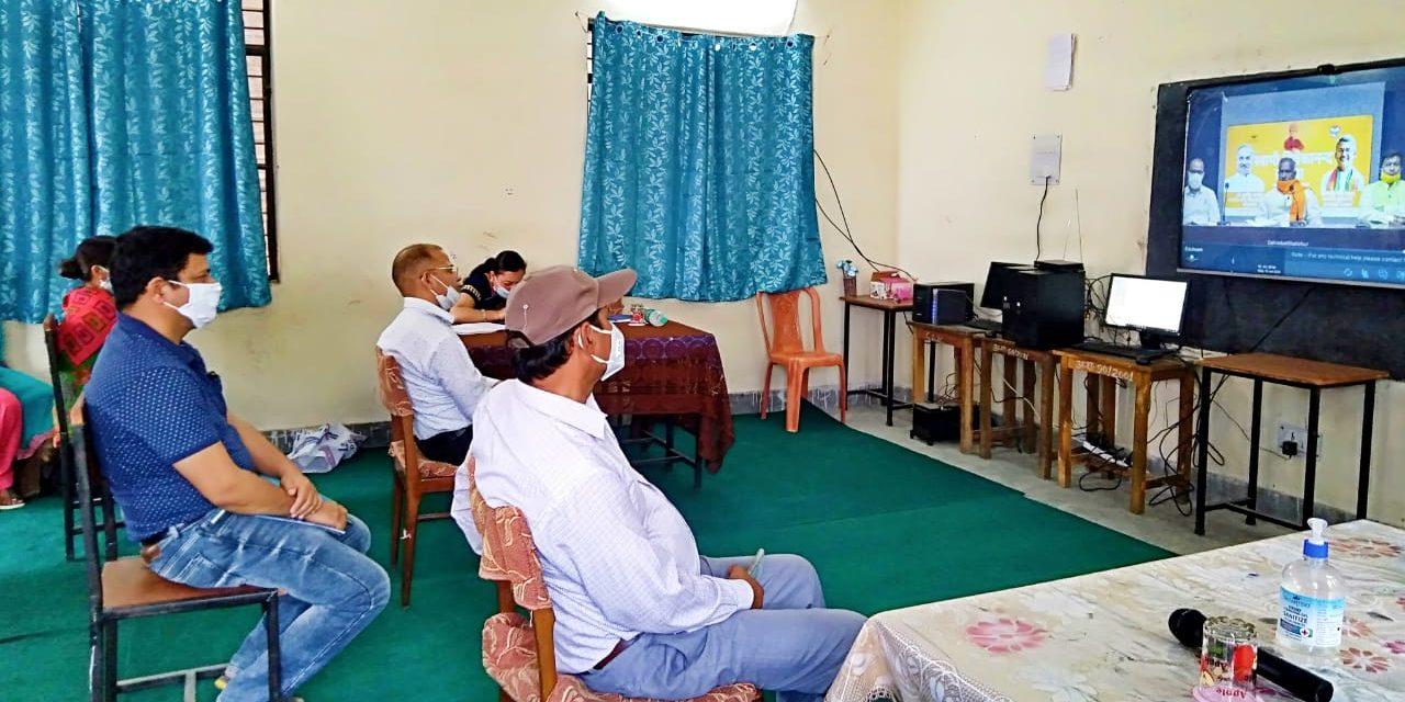 शिक्षा मंत्री ने शुभारंभ किया स्वामी विवेकानंद ई-युवा सम्मेलन पोर्टल।