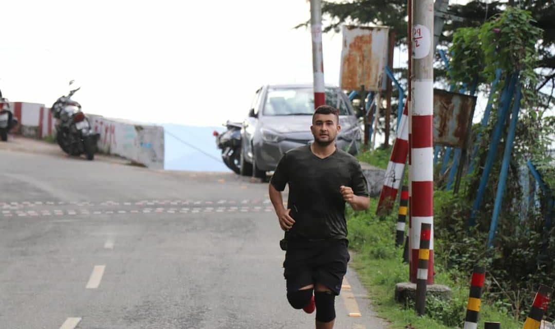 """अच्छी खबर:- अल्मोड़ा नगर के यथार्थ साह ने पूरी की """"हेल 480 कि. मी. दौड़"""""""