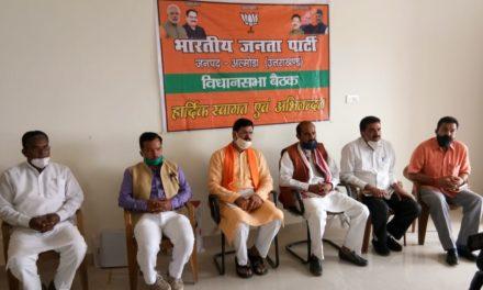 भारतीय जनता पार्टी के कार्यकर्ताओं ने कोरोना वारियर्स की तरह किया काम- कुलदीप कुमार