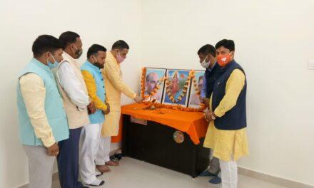 भाजपा ने किया मंडल प्रशिक्षण वर्ग कार्यक्रम।