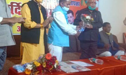 भाजपा प्रदेश अध्यक्ष का अल्मोड़ा आगमन में कार्यकर्ताओं ने किया भव्य स्वागत