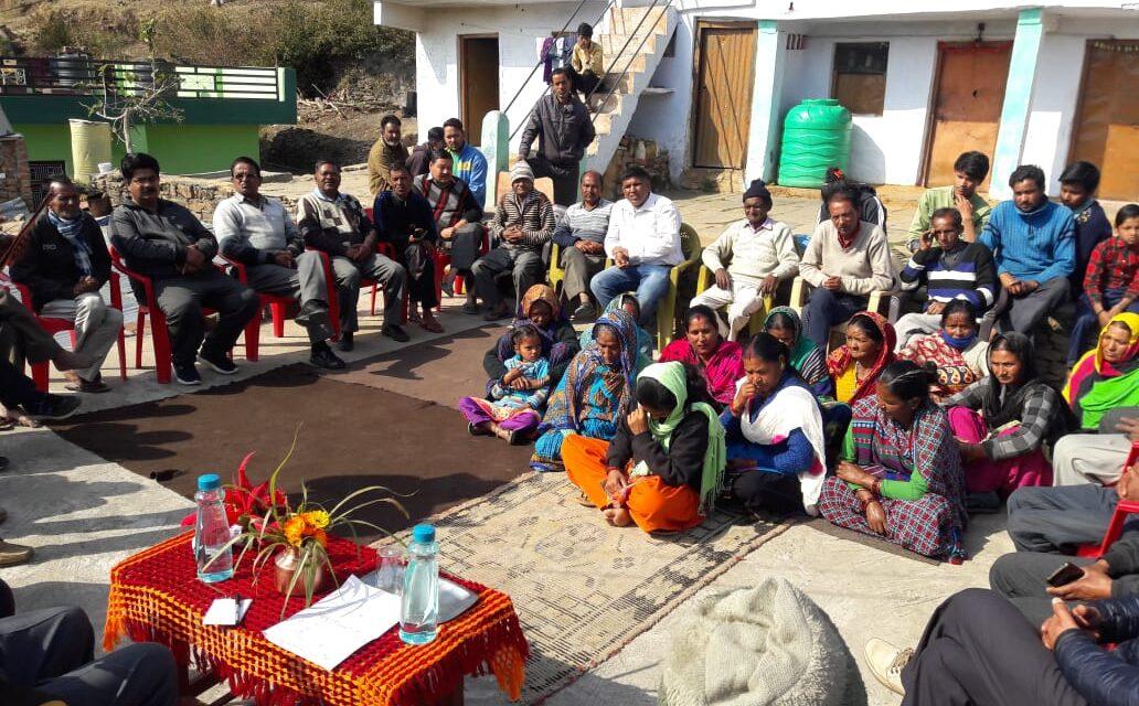 कांंग्रेस ने पाण्डेखोला और राजपुर में किया जनसंवाद कार्यक्रम,राजपुर वार्ड में हुआ बूथ कमेटीका गठन