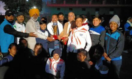 अल्मोड़ा की बालिकाओं ने जीती राज्य स्तरीय कबड्डी प्रतियोगिता