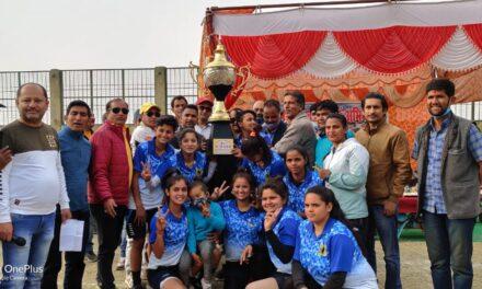अल्मोड़ा की टीम ने अपने नाम की राज्यीस्तरीय हॉकी विक्टोरिया कप -2021 की जीत
