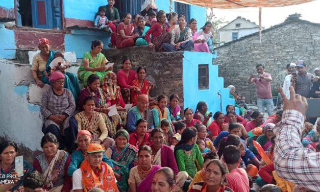 जिलाध्यक्ष के नेतृत्व में भाजपा प्रत्याशी ने खाल्यों, कुन्हील, झिमार, महणा, कैनाबाग, मणुली, चेराला, इनलू, डभरा, श्रीनगर, विनोली, रणकूना, मलिहारी, नहाण (सनणा) क्षेत्र में किया जनसंपर्क