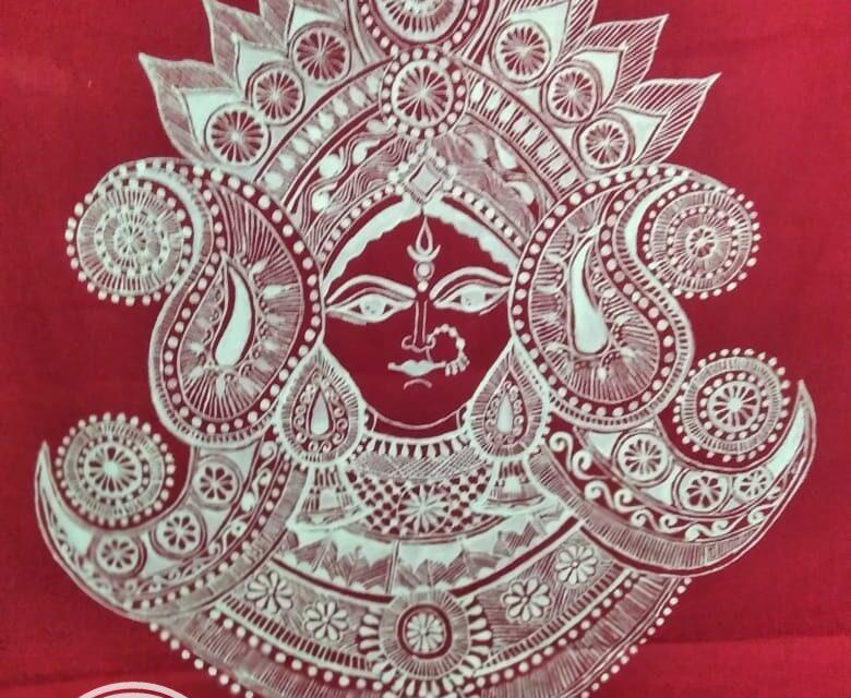 अब घर बैठे आप भी मंगा सकते हैं कुमाउँनी संस्कृति के ऐपण,  हेमलता ने उकेर कुमाऊं की संस्कृति कपड़े पर।