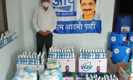 आम आदमी पार्टी प्रदेश उपाध्यक्ष अमित जोशी के नेतृत्व में आम आदमी पार्टी ने शुरू किया अल्मोड़ा की जनता की सेवा का अभियान।