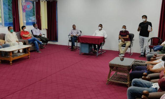 कोरोना में लोगों को जिंदा दिल बनाने के लिए कर्नाटक खोला रामलीला समिति की पहल, वर्ष 2021 की रामलीला के आयोजन एवं तैयारियों के लिए रामलीला समिति कर्नाटक खोला अल्मोडा ने आहूत की बैठक
