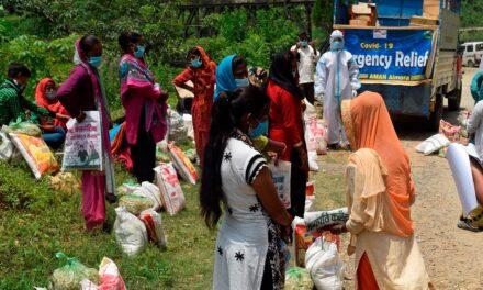 अमन संस्था ने कोविड रिलीफ कार्यक्रम के तहत वितरित किया खाद्यान और मेडिकल किट जरूरतमंद लोगों को