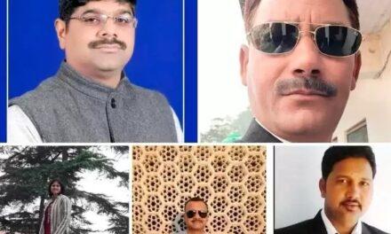 अल्मोड़ा बार का चुनाव परिणाम  शेखर लखचौरा ने महेश परिहार को 5 मतों से किया पराजित