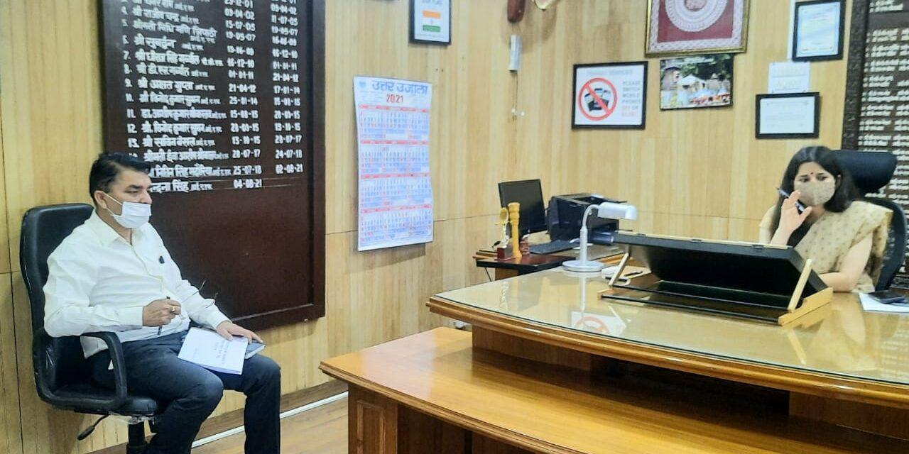 मेडिकल कालेज अल्मोड़ा तय समय सीमा में गुणवत्ता के साथ-साथ जल्द से जल्द पूर्ण कराने के जिलाधिकारी ने दिये निर्देश