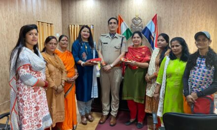 भारतीय जनता पार्टी महिला मोर्चा ने किया रक्षाबंधन कार्यक्रम का आयोजन