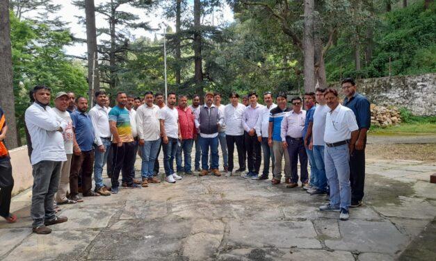 ट्रक यूनियन अल्मोड़ा की नई कार्यकारिणी का गठन, संदीप श्रीवास्तव बने ट्रक यूनियन के अध्यक्ष