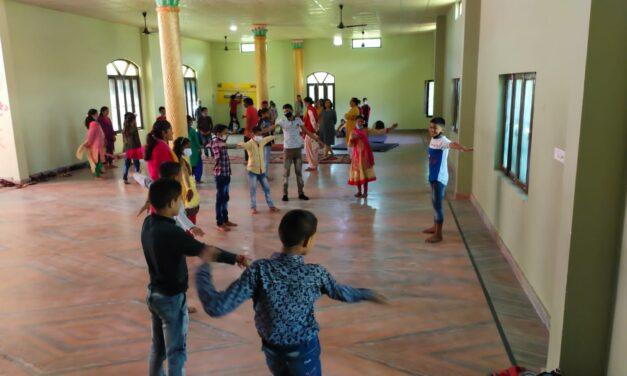 बच्चों ने खेल खेल में सीखीं विभिन्न गतितिविधियां