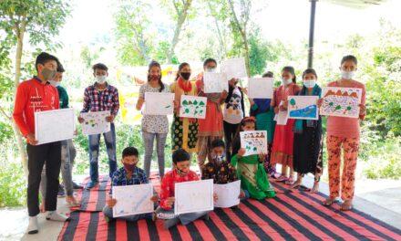 बाल मेले में बच्चों ने प्रस्तुत किए रंगारंग कार्यक्रम अभिव्यक्ति के माध्यम से की बाल अधिकारों की पैरवी